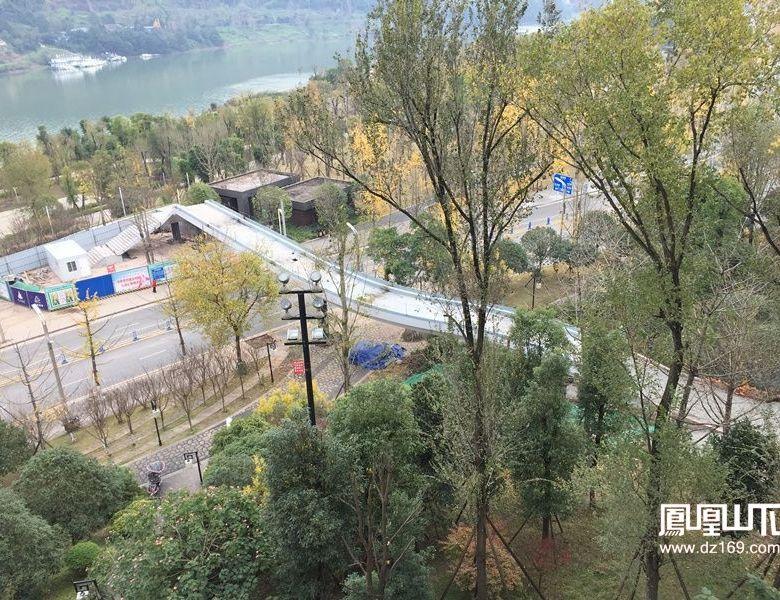 这个工程连接起达州三大公园最美风景!(视频+组图)