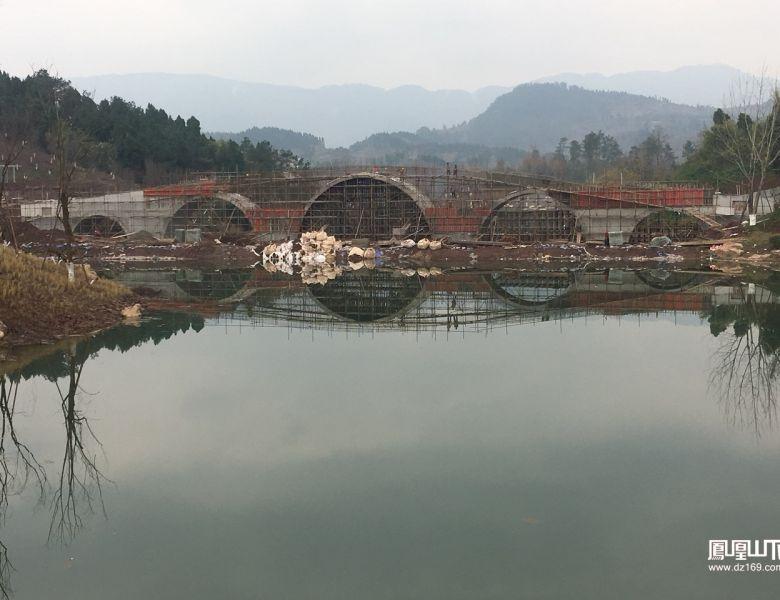 莲花湖公园二期建设进度