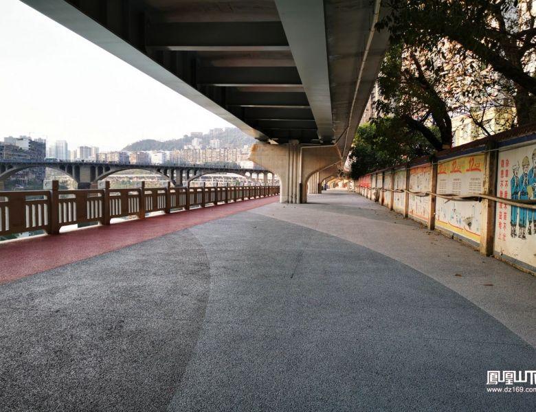 达城滨河游园东段先睹为快