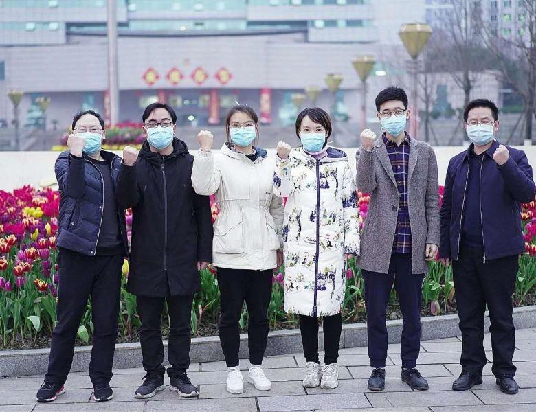 文华宝贝彭书琪代表达州 参加省团委'战疫'公益MV录制