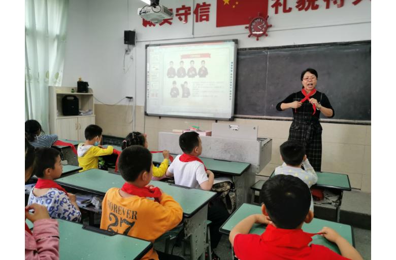 让入队充满仪式感 ——开江县实验小学开展队前教育