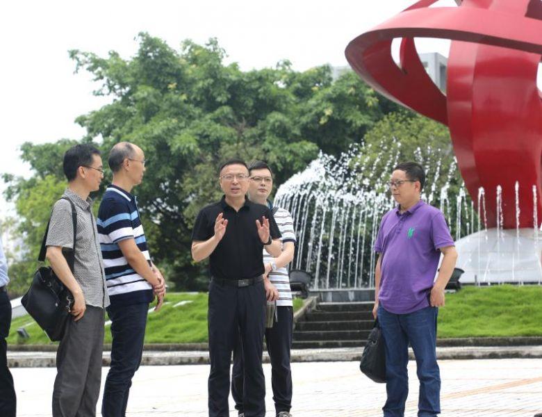 民盟达州市委课题组到大竹中学开展课题调研