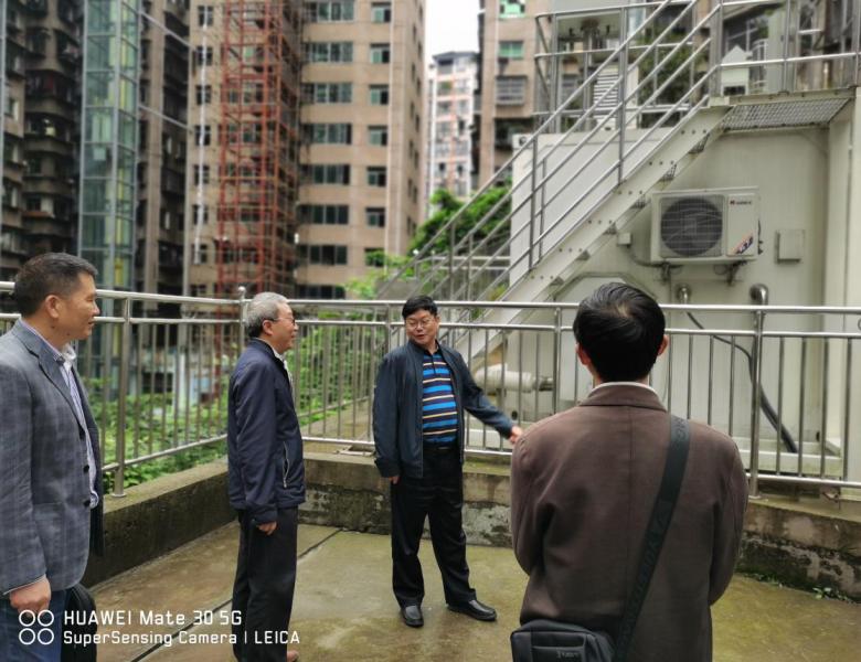 四川省辐射环境管理监测中心站邓晓钦站长到达州开展调研