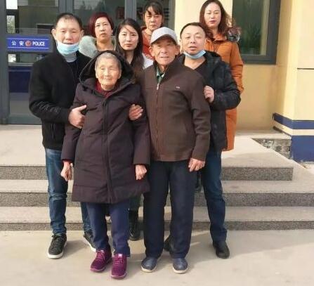 分离31年!普安母子在民警的帮助下终于团聚