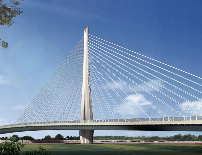 亚洲最大单个转体 达州火车站跨线桥进入桩基施工
