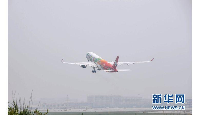 """""""十三五""""规划建设最大机场成都天府国际机场启用"""